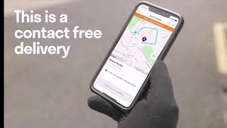 Deliveroo Contact-free delivery!