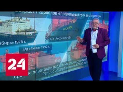 """Распил """"Советского Союза"""": атомный ледокол отправляется в утиль"""