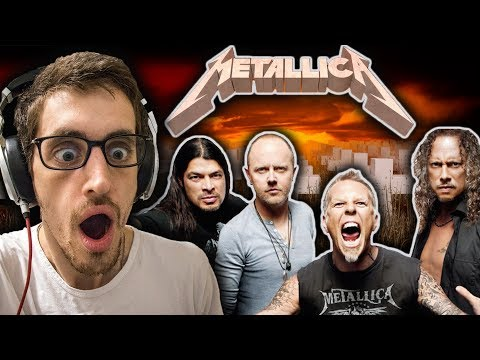 Hip-Hop Head's FIRST TIME Hearing METALLICA: Master of Puppets REACTION