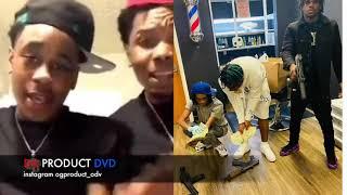 21 Shots Clown Crip Rapper Bran Bran Killed 3 Ward Projects Houston Texas..DA PRODUCT DVD