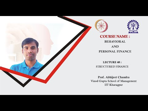 Lecture 40: Structured Finance