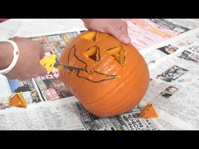How to make a Jack O Lantern.
