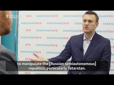 Navalny Says Tatarstan Not Treated Fairly