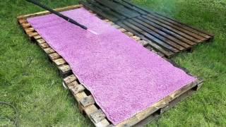 Как помыть ковёр за пять минут Кёрхер нам поможет