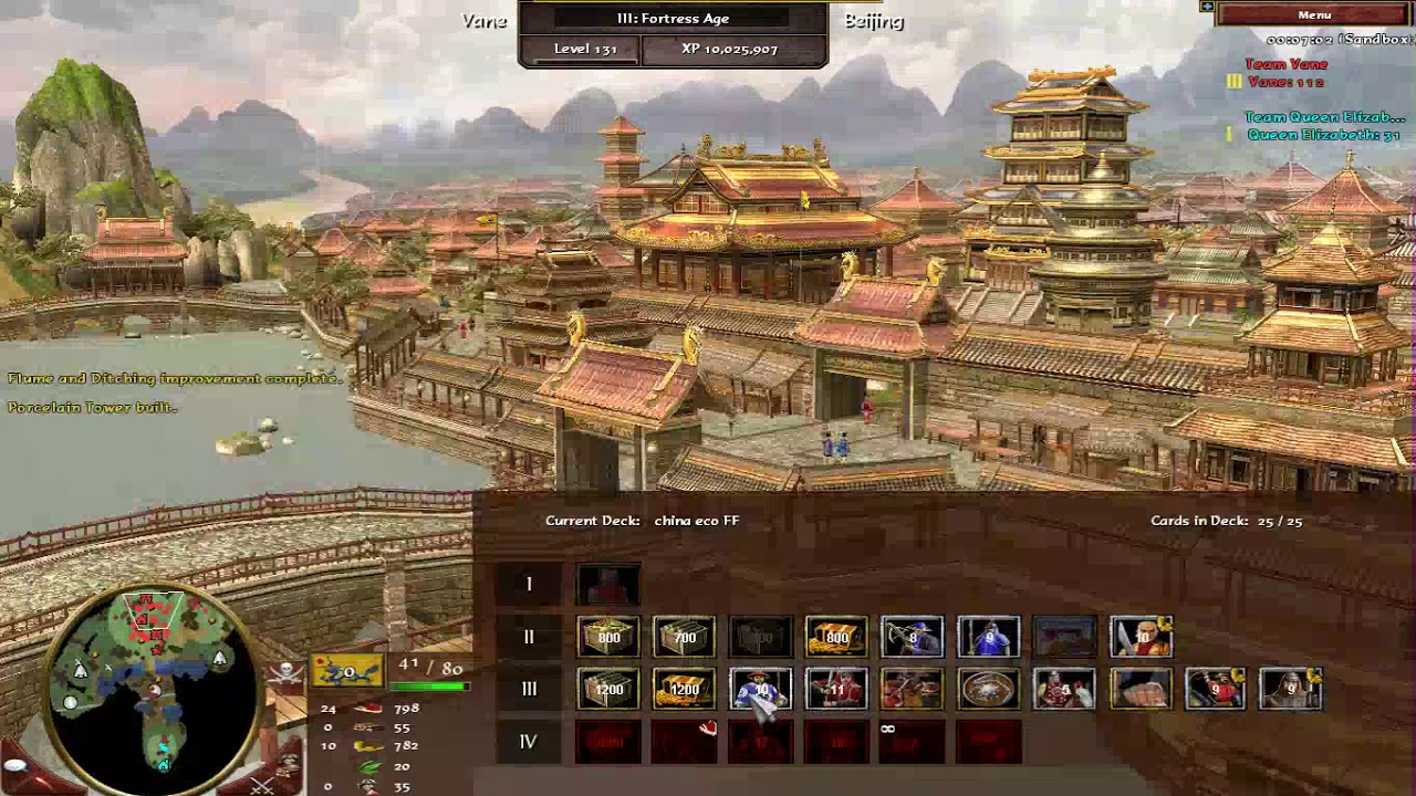 Age of Empires 3 Vane's Patch China eco FF guide (German consulate FF)