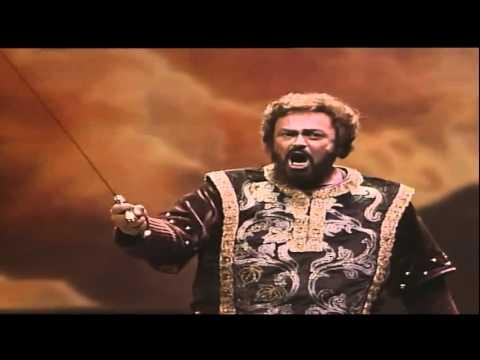 Luciano Pavarotti Di quella pira Verdi      Il Trovatore