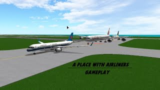 Roblox | A Place With Airliners w/ DiamondGaming (Double Disaster)