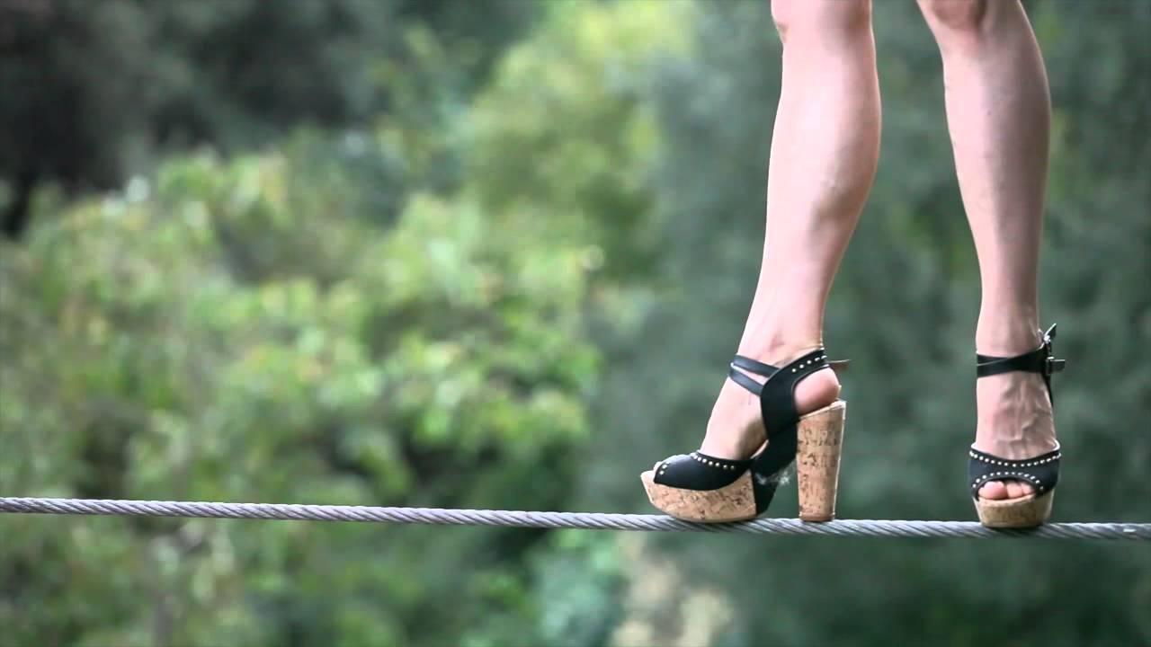 High Wire On High Heels Karine Mauffrey