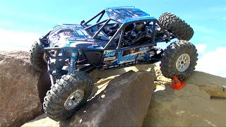 RC ADVENTURES - AXiAL RR10 BOMBER - Tips & Tricks - Backyard Rock Crawling Course