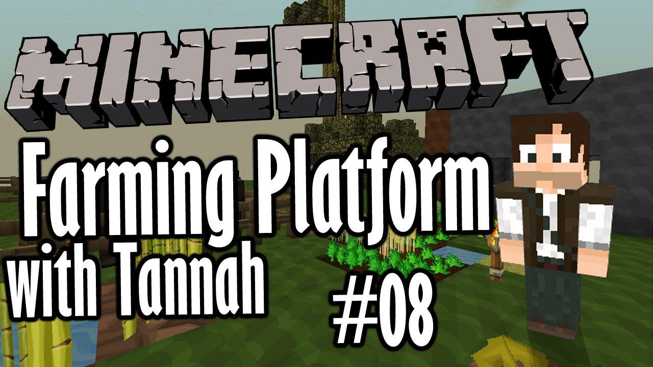 Minecraft Farming Platform Poisonous Potato Ep 08 Lets Play
