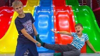 Развлекательный Центр Для Детей! Обзор Детской Площадки От Игоря И Богдана