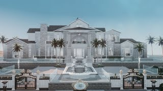 The Sims 4 House Building - Citrolux Mansion