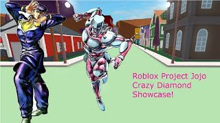 Roblox Project Jojo Crazy Diamond Showcase!