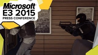 Rainbow Six Siege Multiplayer Gameplay Trailer  - E3 2015 Microsoft Press Conference