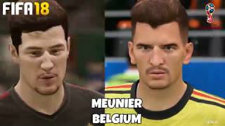 New fifa 18 world cup mode faces