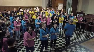 Emarabini - performed by Cape Town Youth Choir and Animae Voces, Dir. Leon Starker