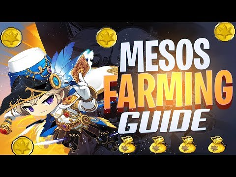[Maplestory M] Meso Farming Guide - Best Places To Farm Mesos In Maplestory Mobile