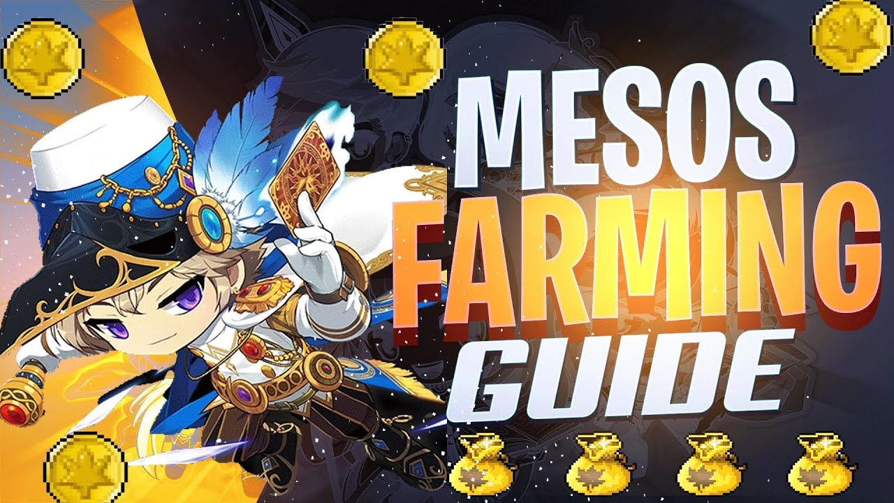 Maplestory M Meso Farming Guide Best Places To Farm Mesos In Maplestory Mobile Youtube