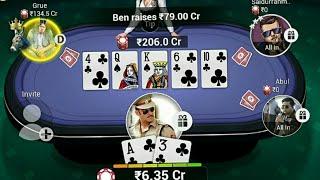 POKER LAST CARD GAME 600 CR TEEN PATTI GOLD