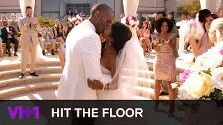Ahsha & Derek Get Married | Hit The Floor