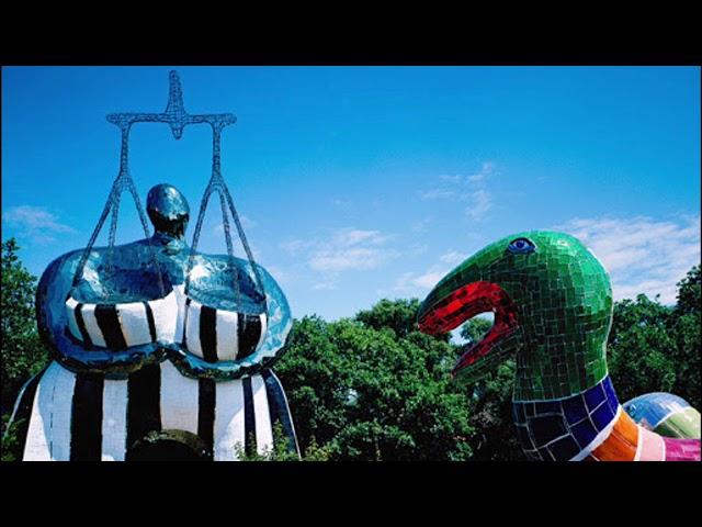Trois minutes d'art - Niki de Saint Phalle, le Jardin des Tarots