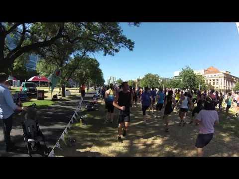 Goodlife Health Clubs Wellness Festival Workout