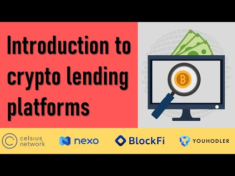 Introduction to crypto lending platforms | Crypto Lending | Chapter 4