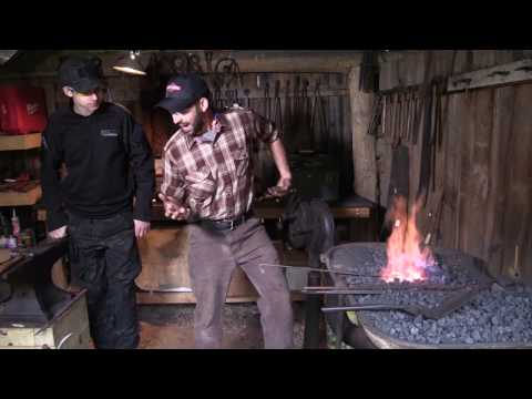 """Additional Footage featuring blacksmithing from """"Appalachian Artistry"""""""