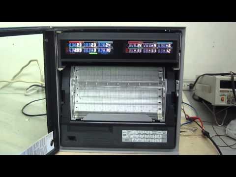 CHINO AH3725-N00 Hybrid recorder (RBI type)  動作確認