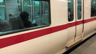 名鉄2200系2211編成 金山発車