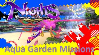 NiGHTS Journey of Dreams Missions - Aqua Garden (All A