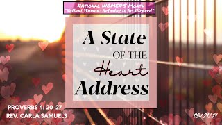 A State of the Heart Address