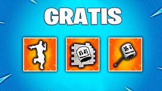 *NEW* FREE GIFTS AND OBJECTS FROM MARSHMELLO IN FORTNITE (NEW EVENT)