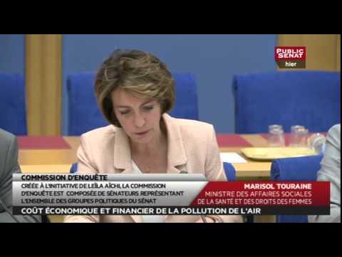 Audition - Marisol Touraine - Coût économique et financier de la pollution de l'air