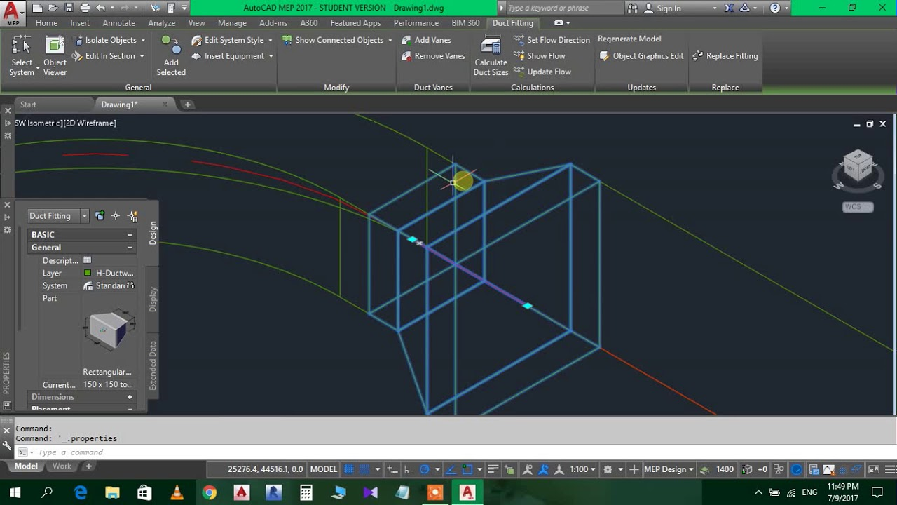 Autocad Mep Tutorial Youtube Hvac Drawing