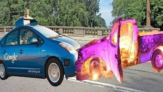 Google Self-Driving Cars Steering For Self-Destruction?