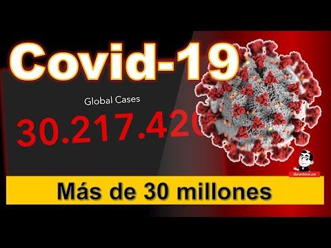 El Mundo superó los 30 millones de casos ☣ Cifras de la pandemia COVID-19 ☣ Septiembre 18 2020