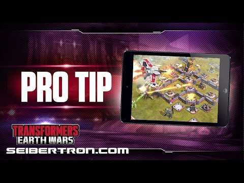 Transformers Earth Wars Pro Tip #1