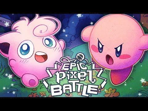 Kirby VS Jigglypuff - EPIC PIXEL BATTLE [EPB 02 Remaster]