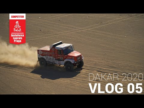 InstaForex Loprais Team DAKAR 2020   Stage 1 - VLOG 05