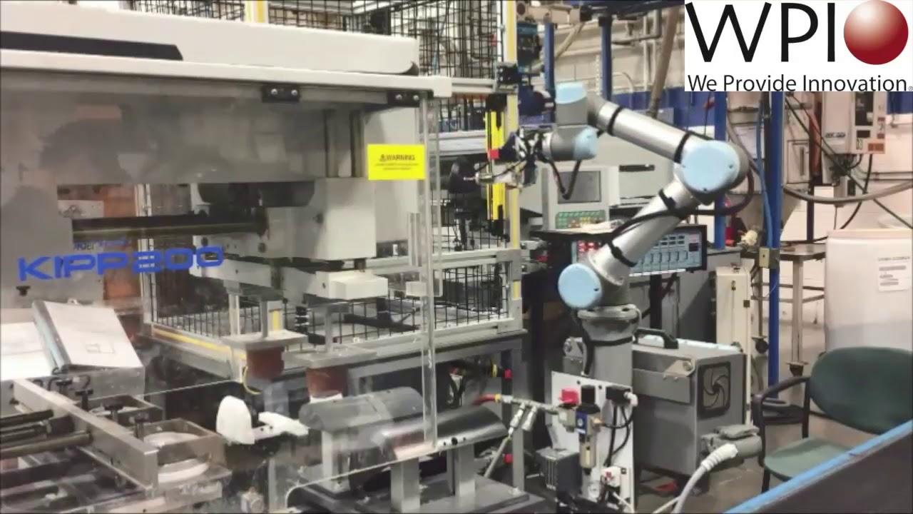 Wisconsin Plastics UR5 cobot