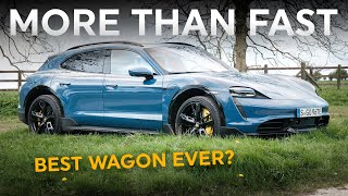 The world's best estate car: Porsche Taycan Cross Turismo Turbo S review