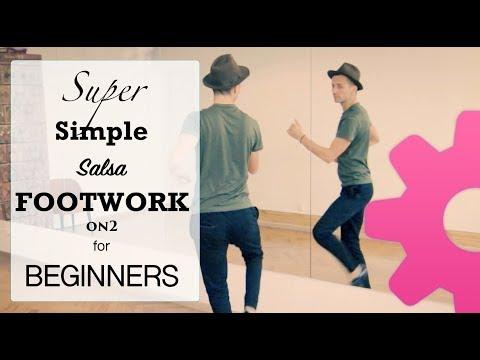 Salsa Footwork Lesson | Simple BEGINNERS  footwork #23