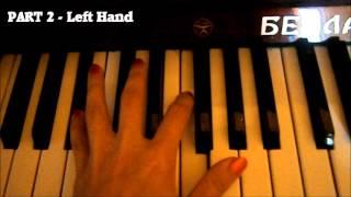 Qaraqan - Melek Piano Tutorial by Ayten H. Aydan