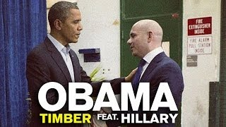 Barack Obama Singing Timber by Pitbull (ft. Hillary Clinton)