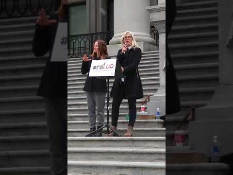 Mandalena Lewis speech at Vancouver #MeToo rally, November 4th 2017