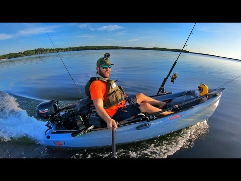 Jonny Boats Bass 100 - Installing Suzuki 2.5 HP Outboard Motor KIT And On Water Test