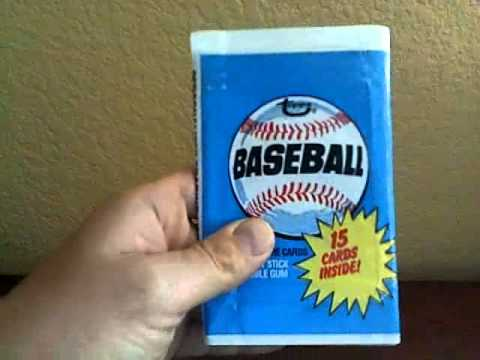 How To Pack Search Baseball Cards