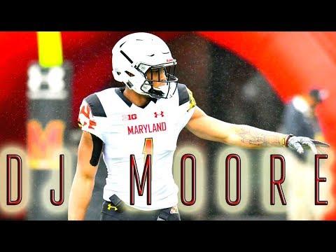 "DJ Moore Ultimate Highlights || ""Maryland Terrapins WR"" || ᴴᴰ"