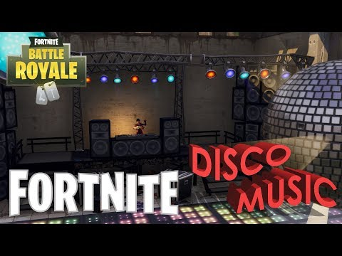 FORTNITE - NEW DISCO MUSIC SEASON 4 AND 5 (In Game Version) - 30 minutes
